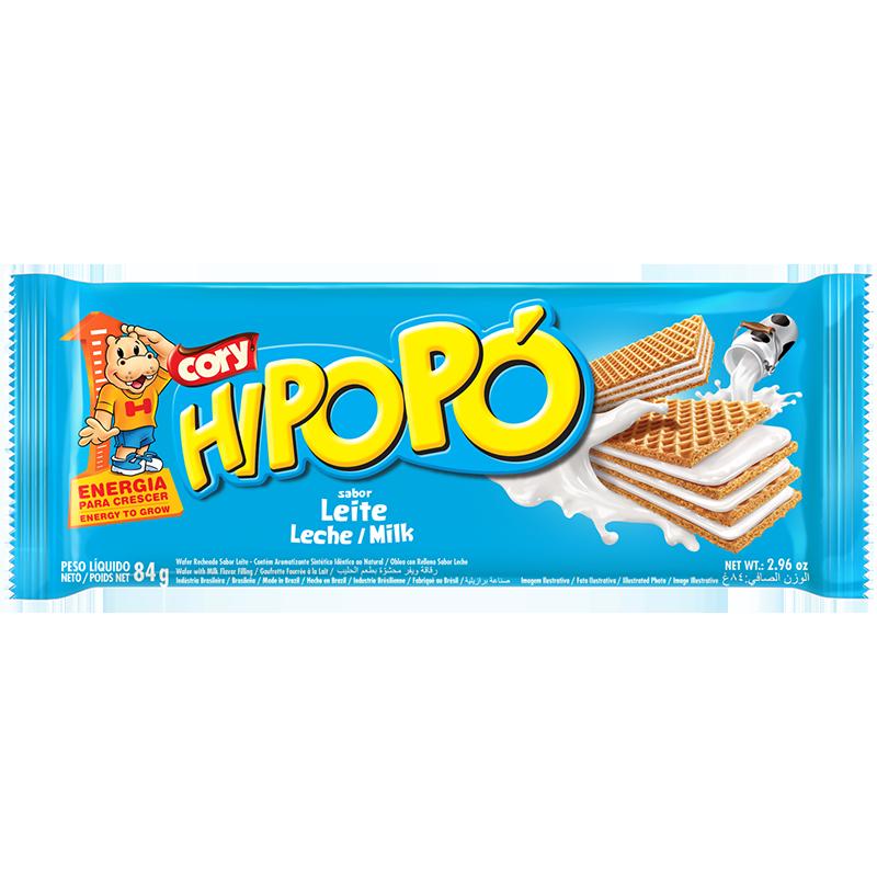 Oblea Hipopó de Leite 84g